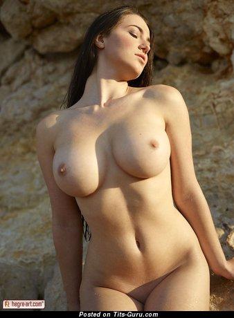 Image. Yara Eggimann - wonderful lady with big natural tittys photo