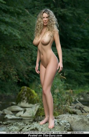 Image. Hot lady with big natural breast photo