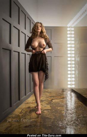Image. Olga Kobzar - sexy naked blonde with medium boobs photo