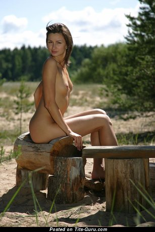 Image. Grazhina - amazing female with small natural boobs picture