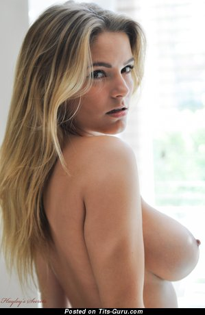 Image. Jess Kingham - blonde with big natural tittes photo