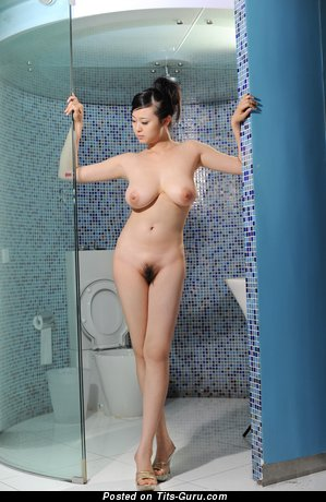 Image. Bing Yi - naked asian with medium natural tits pic