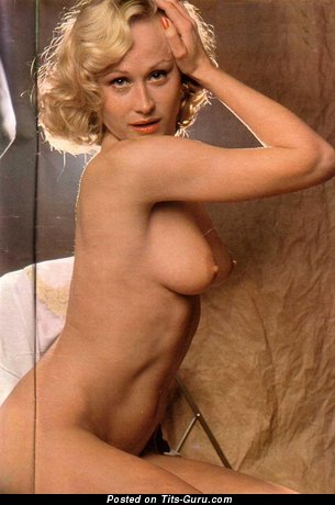 Naked wonderful female with medium natural breast image