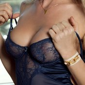 Beautiful woman with big breast photo