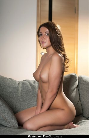 Nude wonderful woman with small natural boobies picture