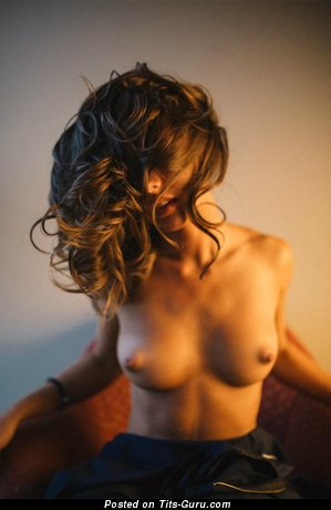 Image. Nude hot lady with natural tots picture