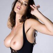 Sexy brunette photo