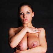 Axana Shyker - hot female with big natural tits and big nipples image
