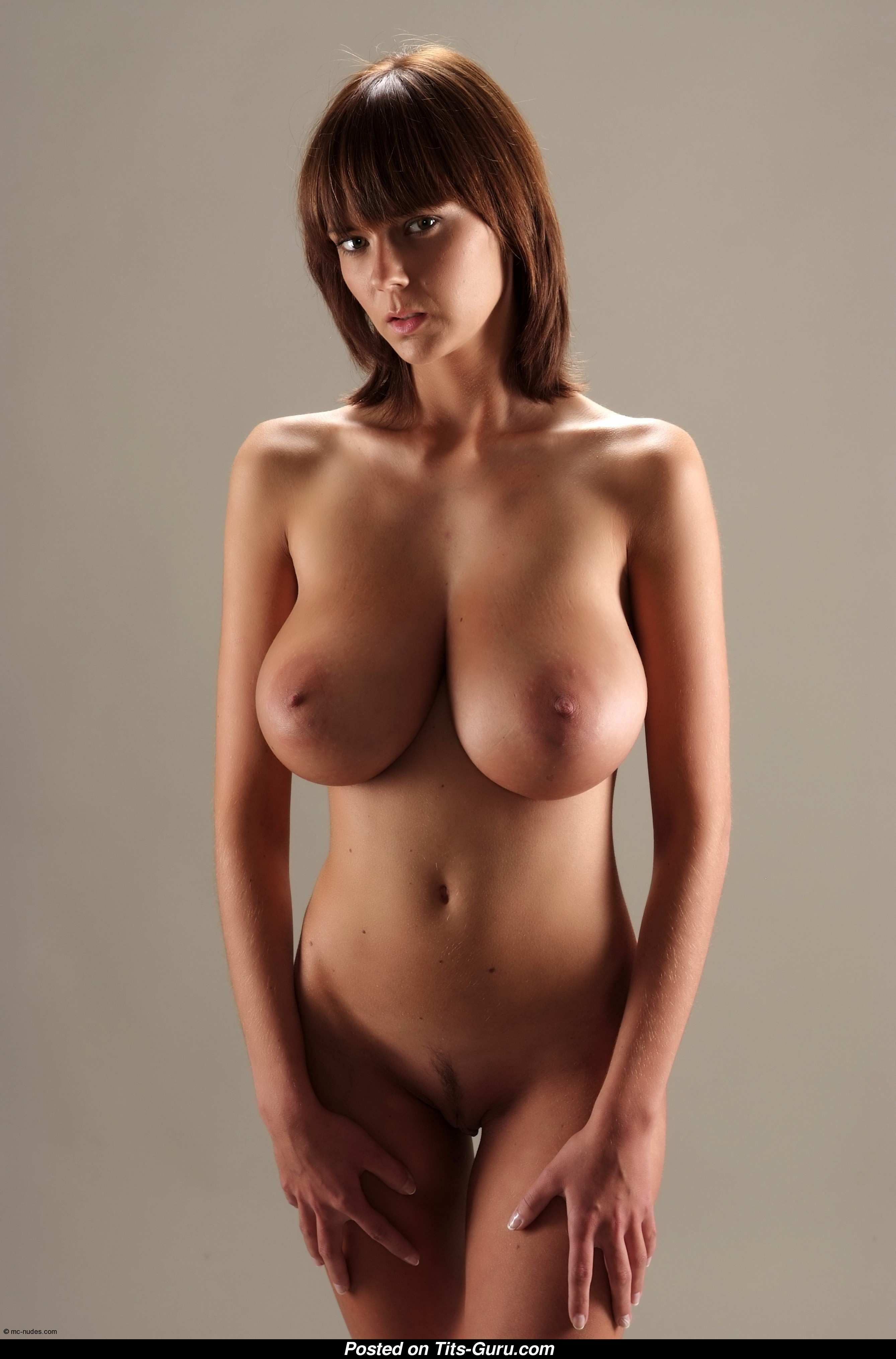 Karin Spolnikova Aka Gabrielle - Sexy Naked Brunette With -4163