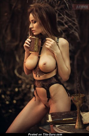 Image. Anna Reis - sexy nude wonderful girl with natural tots photo