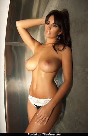 Image. Naked beautiful female with big natural breast picture