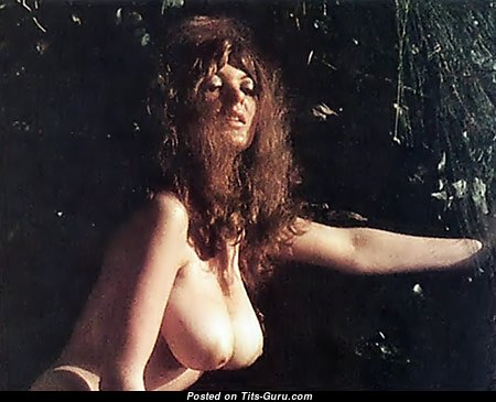 Avril Lund - Elegant Brunette with Elegant Naked Natural Hooters (Sex Photoshoot)
