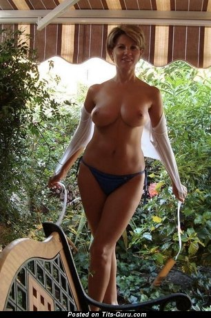 Image. Nude wonderful female with natural boobies picture