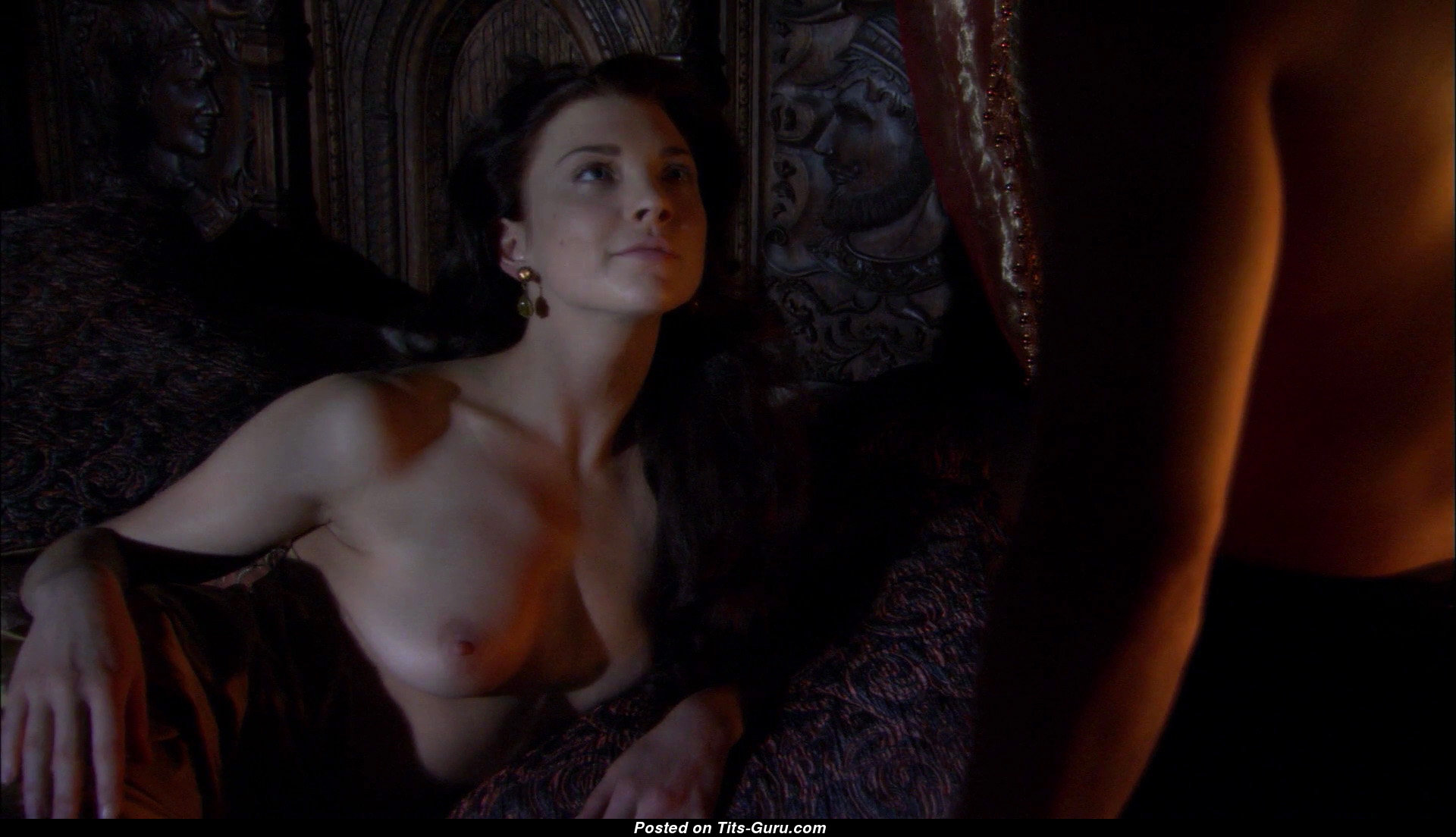 Natalie dormer nude boobs and tattooed body from in darkness movie