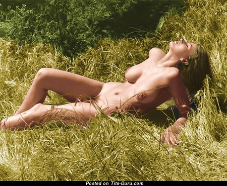 Image. Linda Gordon - nude hot female with natural tots vintage