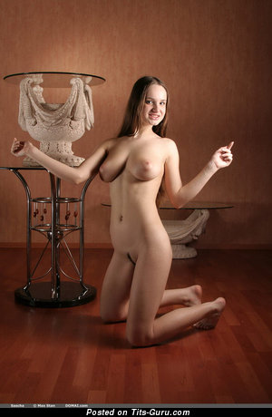 Image. Sasha - naked amazing female with medium natural breast picture