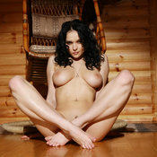 Jenya D - wonderful female with medium natural breast photo