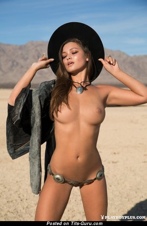 Image. Naked amazing female with natural tittys image
