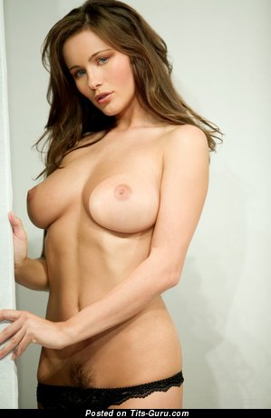Image. Kyla Cole - sexy nude brunette with medium natural boob photo