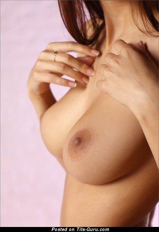 Image. Hot woman with big natural boob pic