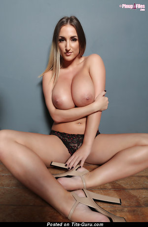 Image. Stacey Poole - naked beautiful female with huge natural boob photo