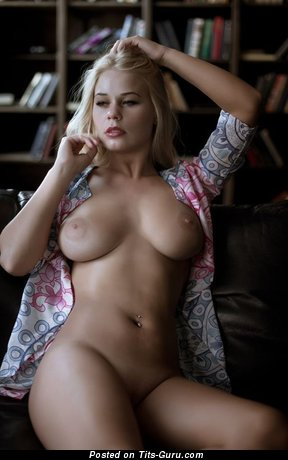 Image. Blonde with natural boobs picture