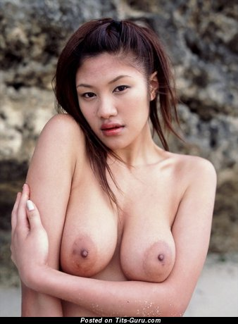 Image. Azusa Ayano - naked nice female with natural boobies picture