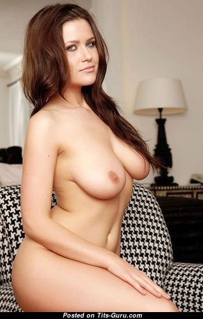 Alluring Babe with Alluring Nude Natural Medium Sized Breasts (Xxx Pix)