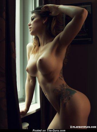 Delightful Playboy Girlfriend with Delightful Nude C Size Boob (18+ Foto)