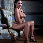 Sabine Jemeljanova - hot lady with big natural tittys photo