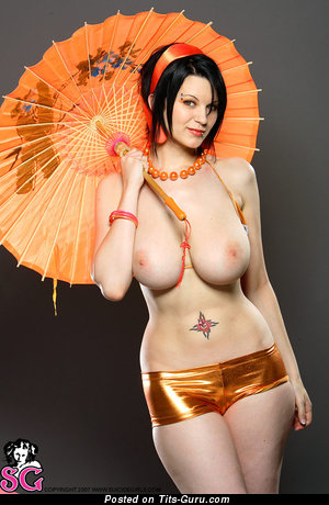 Image. Ember Suicide - nude wonderful lady with big natural tittes pic