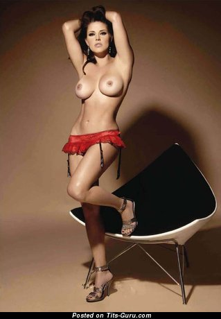 Alicia Machado - Perfect Venezuelan Red Hair Actress with Charming Exposed Medium Sized Knockers (Hd Xxx Pix)