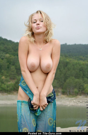 Image. Milana - hot female with big natural tittes pic