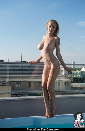 Image. Natasha Legeyda - sexy nude blonde with medium boobs photo