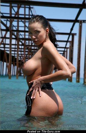Image. Beautiful female with big natural boobies pic