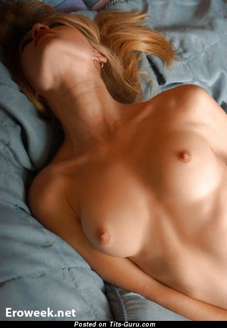 Image. Nude wonderful female with medium natural boobies pic