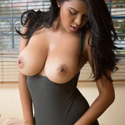 Hot girl with big natural tittys photo
