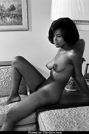 Image. Ebony with big breast vintage