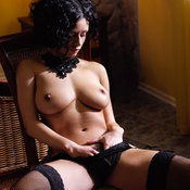 Lubachka - wonderful girl with big natural tits picture