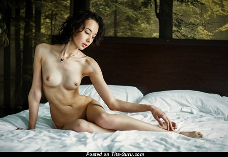 Nude asian with small natural tits picture