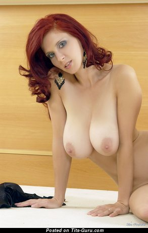 Image. Bettie Ballhaus - nude red hair with huge natural tits photo