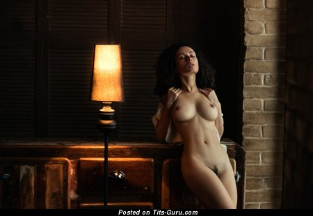 Anastasia Shpits: sexy nude beautiful female with natural tits photo