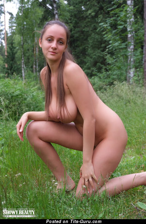 Eekat Aka Melony B - Pretty Brunette with Pretty Bare Natural Substantial Boobs (Hd Xxx Picture)