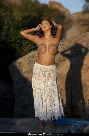 Sisicole - nude brunette with big breast picture