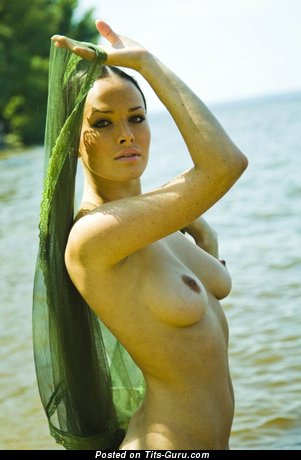 Image. Dasha Astafieva - naked awesome woman with medium natural boobs photo