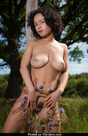 Image. Pammie Lee - naked wonderful lady with medium natural tots image