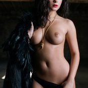 Beautiful woman with big breast pic