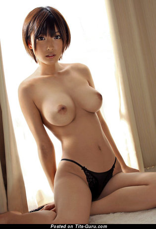 Image. Asian red hair with medium boobies picture