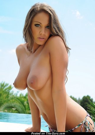 Emma Frain - Superb British Woman with Superb Nude Real D Size Breasts (Xxx Photo)