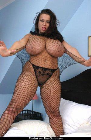 Aneta Buena: sexy naked red hair with big natural breast photo